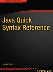 Olsson M. Java Quick Syntax Reference